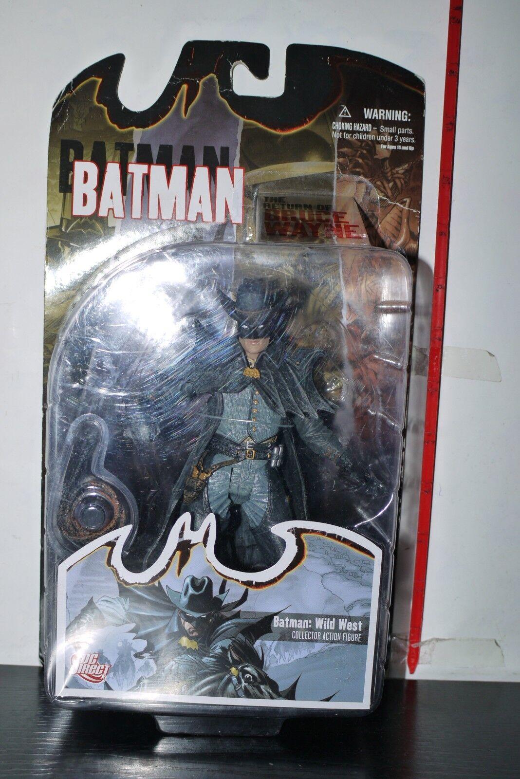 2011 Batman THE Return of Bruce Wayne Wild West Batman Figure DC Direct MOC