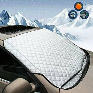Car-Magnetic-Windshield-Snow-Cover-Winter-Ice-Frost-Guard-Sunshade-Protector