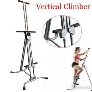 Stahlrahmen Heavy Duty Vertical Climber Fitness Klettern Cardio Machine Stepper