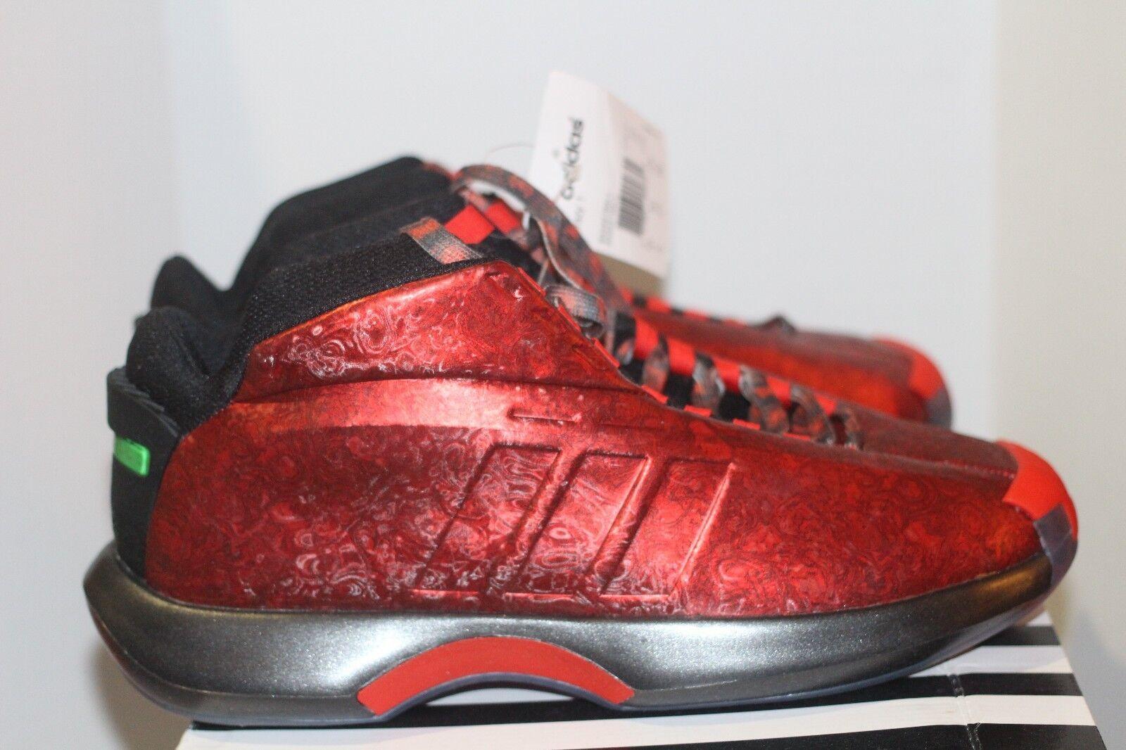 Adidas Crazy 1 Damien Lillard SZ 9 W Receipt Florist City Portland Trailblazers