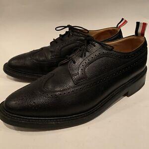 Thom Browne Longwing Derby Shoes Black