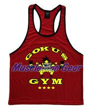 Made In USA Goku's Gym A Men's Tank Top Stringer Golds Dragon Ball Z Goku