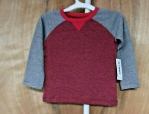 TODDLE-BOY-039-S-SIZE-18-24-mos-OLD-Navy-LONG-SLEEVE-T-SHIRT-NWT