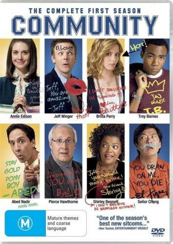 1 of 1 - COMMUNITY The Complete First Season DVD Region 4 (4 DvD Set)