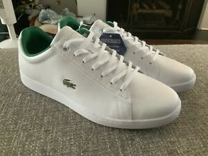 Lacoste Hydez 119 White Green Leather