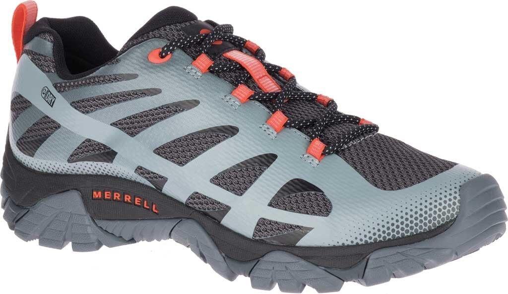 1fab0577e6 Merrell Moab Edge 2 Waterproof Sneaker (Men's) in Monument Mesh  Polyurethane NEW. NIKE 308475-002 Air Zoom Huarache 2K4 Size 10 Wolf Grey  bluee White