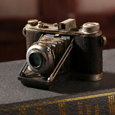 Vintage Resin Old Camera Model Display Office Desktop Figurine Antique Decor