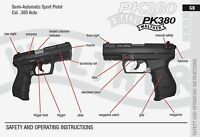Walther Pk380 380 Pistol Owners Instruction And Maintenance Manual