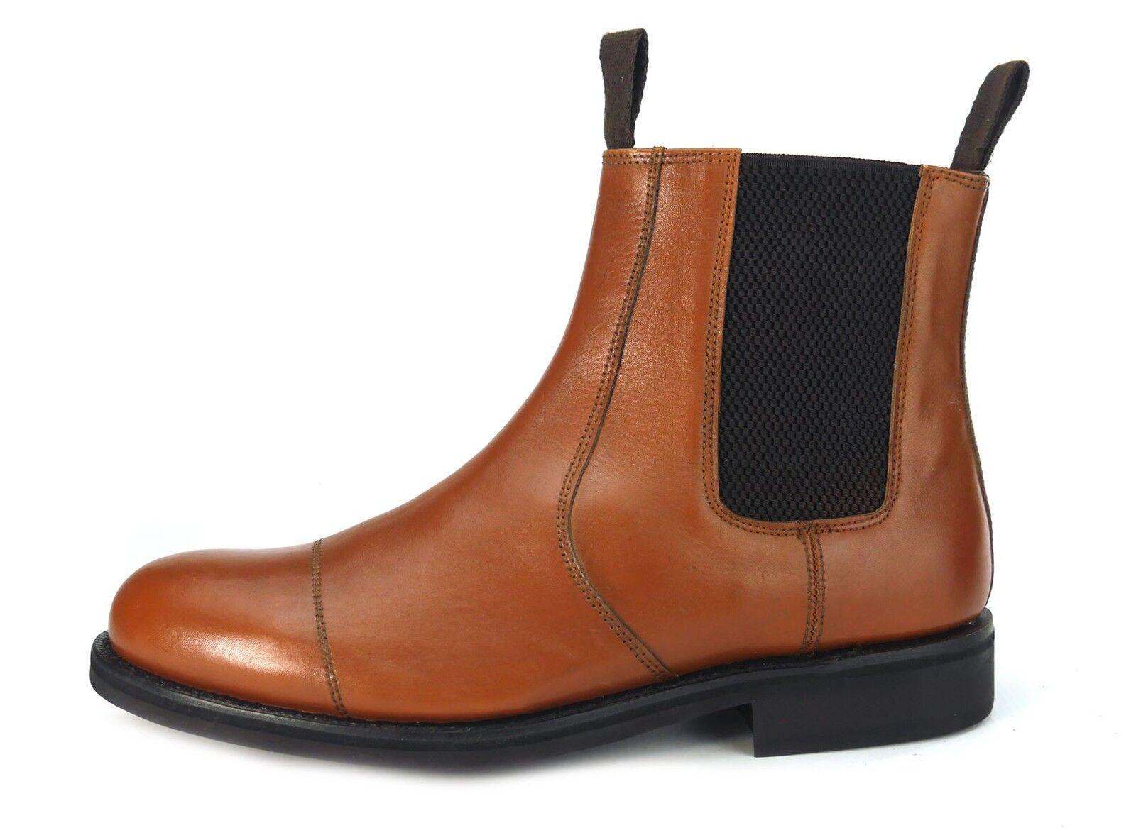 Frank James Dealer Benchgrade Leder Handmade Welted Chelsea Dealer James Rubber Sole Stiefel b313dc