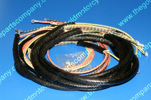 Harley Davidson Wiring Harness 1949-1957 WL, UL, FL, FLH. 70321-48 on harley trunk latch, harley stator wiring, harley tow bar, harley headlight adapter, harley clutch rod, harley motorcycle stereo amplifier, harley bluetooth interface, harley wiring color codes, harley wiring kit, harley choke lever, harley headlight harness, harley dash kit, harley dash wiring, harley timing chain, harley clutch diaphragm spring, harley wiring connectors, harley belly pan, harley banjo bolt, harley wiring tools, harley crankcase,