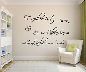 Wandtattoo-Wandaufkleber-Spruch-Wohnzimmer-Familie-ist-wo-Leben-beginnt