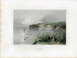 Grecia-Nicopoli-Engraving-By-R-Wallis-Over-Artwork-Of-W-H-Bartlett