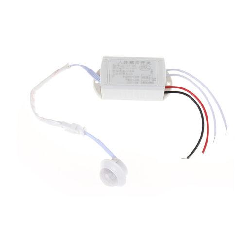 Commutateur automatique capteur mouvement infrarouge corps 220V 200W PIR