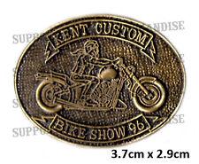HELLS ANGELS KENT CUSTOM BIKE SHOW 1996 Pin Badge HIGHLY COLLECTABLE RARE KCBS