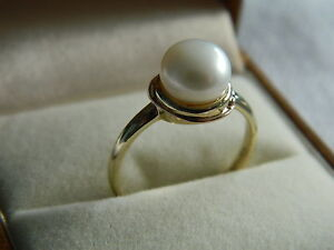 Clogau-9ct-Welsh-Gold-Tree-of-Life-Pearl-Ring-size-O-RRP-320-00
