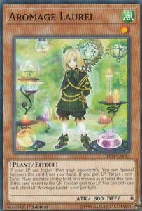 YUGIOH-CARD-3-X-AROMAGE-LAUREL-CHIM-EN017