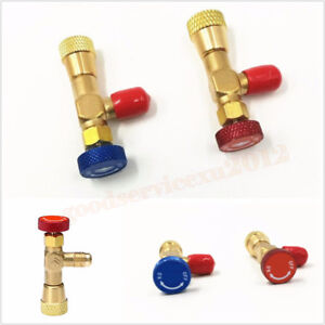 Details about 2 Pcs Car SUV Air Conditioning Repair Liquid Safety Valve  Core Remover R410A R22