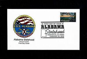 Alabama-Statehood-Stamp-First-Day-Cover-Only-5-Covers-Made-So-Far