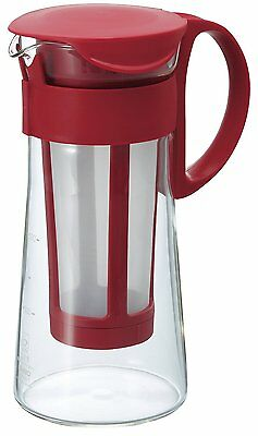 Hario Cold Brew Coffee Pot in Red 600ml MCPN-7CR From Japan
