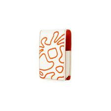 Crumpler Little Big Thing Leather Case For iPod Nano 1G/2G - Cream/Orange NEW