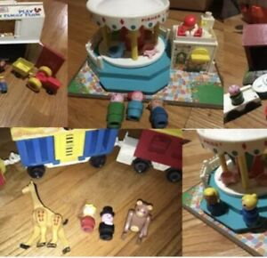 Fisher-Price-Little-People-VINTAGE-Toys-181-460-132-134-604-6613-CHOICE