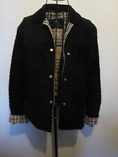 A LOVELY STYLISH BLACK BURBERRY LONDON  JACKET ( SIZES LISTED BELOW )