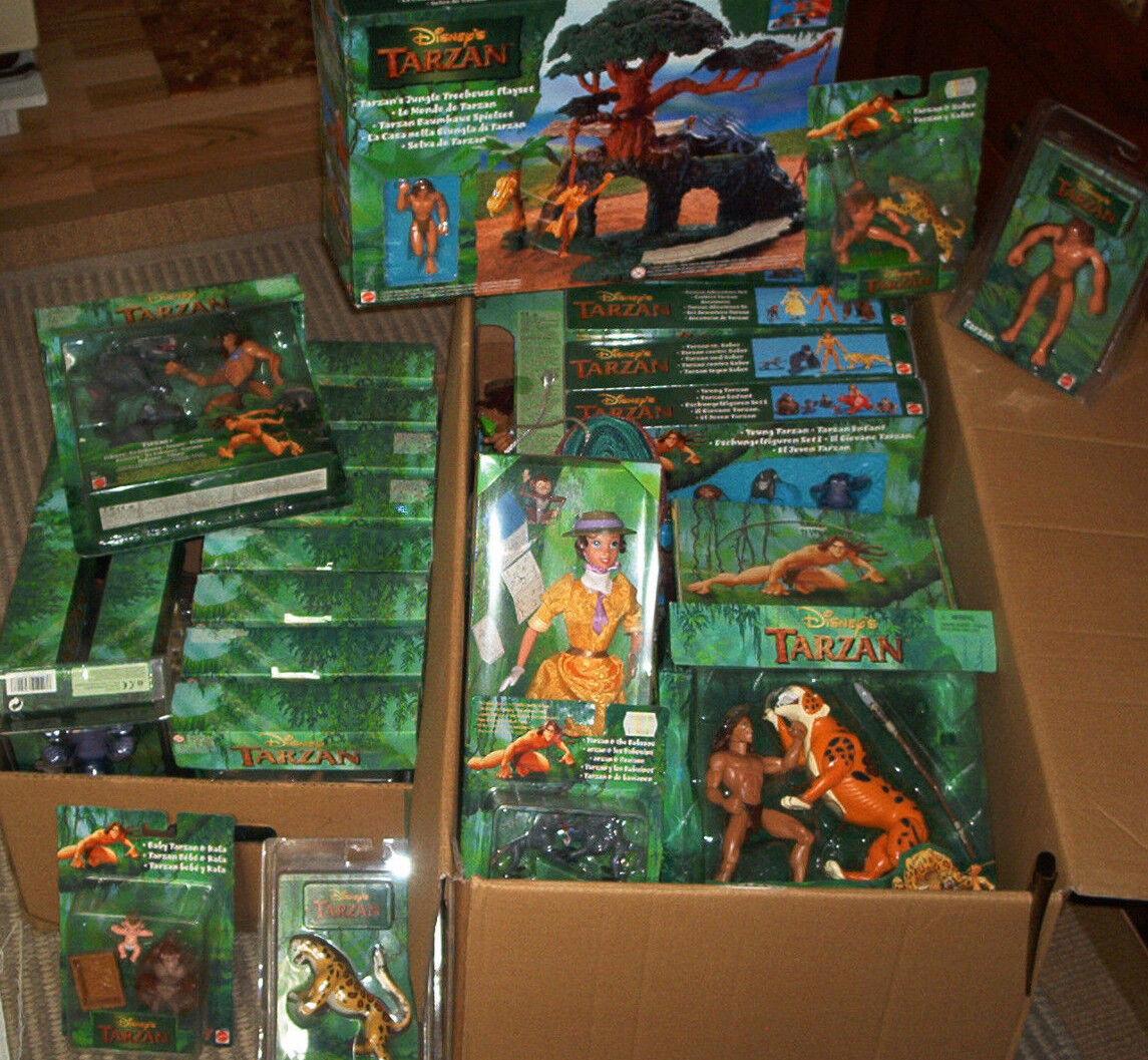 Tarzan Spiele Set mit deutschen Spielregel 1998 Sony NEU NEU NEU in OVP 9c73d2