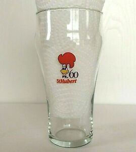 St-Hubert-BBQ-Restaurant-Drinking-Glass-60th-Anniversary-Coca-Cola-Logo-Clear