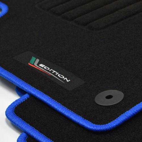 Alfombrillas profesionales gamuza Edition tapices para skoda Octavia III 5e a partir de año 11//2012 bl