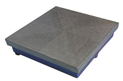 Aufrichtig Kontrollplatte - Messplatte Aus Grauguss - 250 X 250 X 25 Mm - Neu Freigabepreis