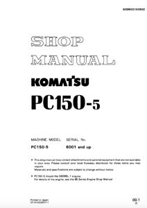 Komatsu Pc 150 Wiring Diagram Posts. Komatsu Excavator Pc150 5 Shop Repair Manual Ebay Parts Catalog Is Loading. Wiring. Komatsu Pc220lc Wiring Diagram At Scoala.co