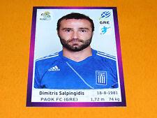 101 SALPINGIDIS HELLAS GRECE FOOTBALL PANINI UEFA EURO 2012