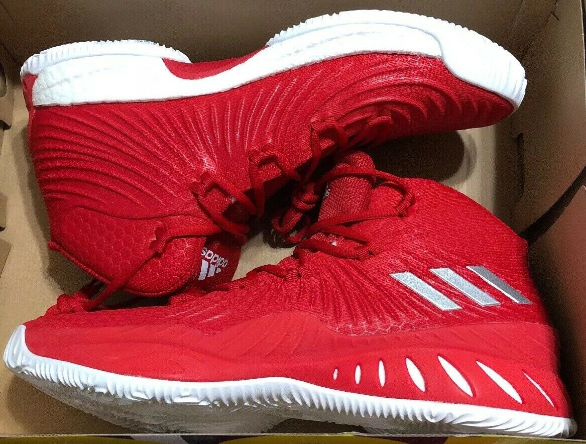 Adidas Crazy Explosive 2017 Mens Size 12 Red White SM NBA NCAA Boost