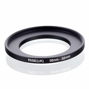 RISE-UK-38mm-52mm-38-52-mm-38-to-52-Step-Up-Ring-Filter-Adapter-black
