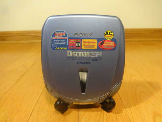 Sony D-E405 CD Walkman Discman Portable Compact Disc Player Blue