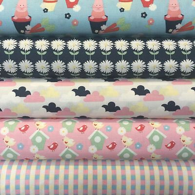 Fabric Freedom Vegetable Patch Floral 100/% Cotton Fabric Patchwork