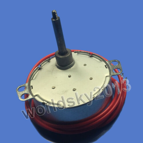 1pcs AC12V 8~10rpm TYC50 Synchronous Motor Speed Reduction Gear Motor L45-Φ5