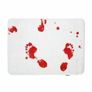 Bloody Bath Bath Mat by Spinning Hat Scary Psycho Horror Halloween Decorations