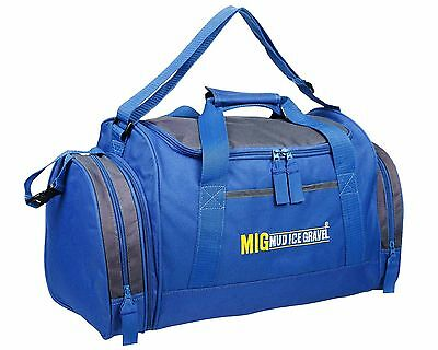 Mens & Boys Sports & Gym Holdall Bag SPORTS TRAVEL WORK SCHOOL - ROYAL BLUE 07M
