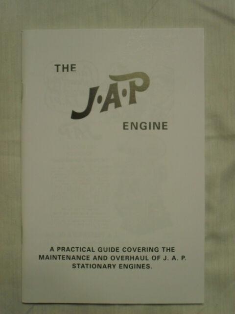 JAP Engine Maintenance & Overhaul Guide