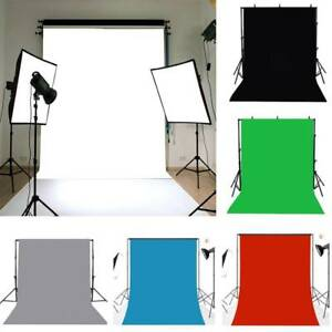 1-6x2-5M-5x7ft-Photography-Studio-Non-woven-Background-Screen-colors-Backdrop
