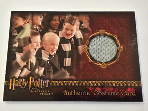 Harry-Potter-and-the-Sorcerer-039-s-Stone-Draco-039-s-Scarf-Costume-Card-Prop-Card-Gray