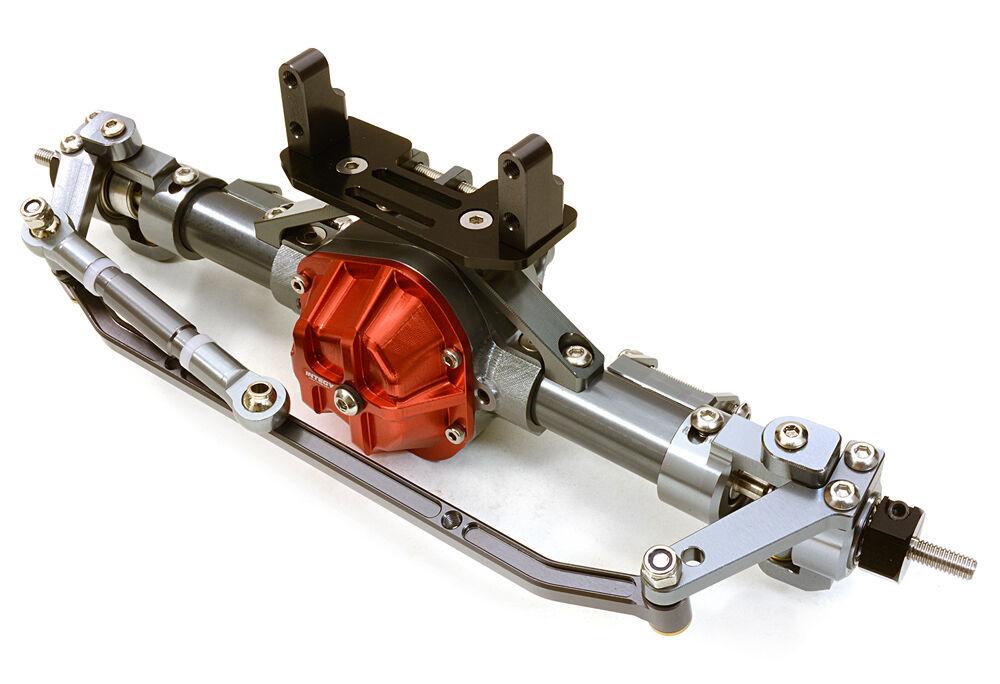 C26901GUN Integy Complete T9 F Axle for Axial 1 10 SCX-10 Dingo Honcho & Jeep
