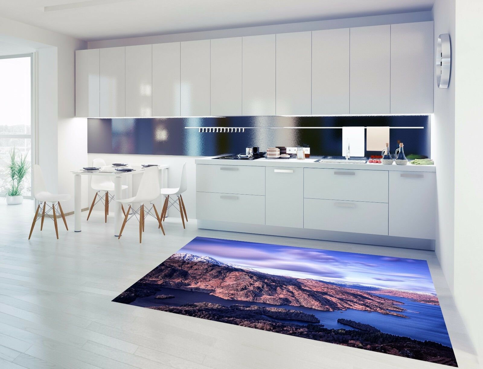 3D Sky Reef 834 Kitchen Mat Floor Murals Wall Print Wall AJ WALLPAPER UK Kyra