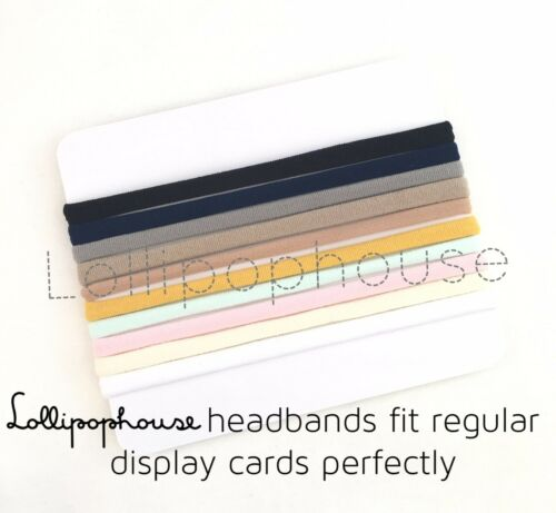 10 Pieces Sample Pack Elastic One Size Fits Baby Adult Baby Nylon Headbands
