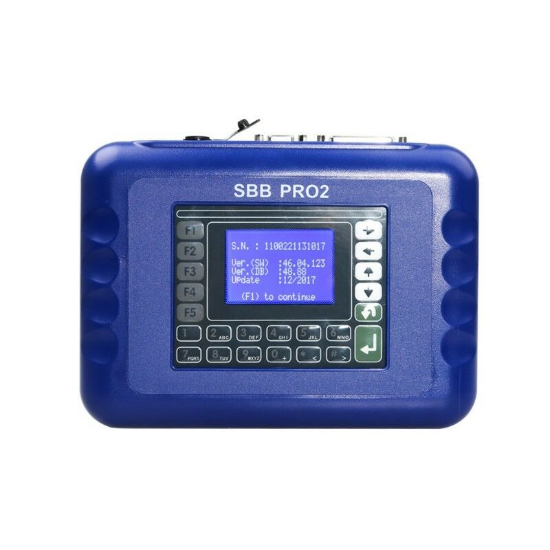 SBB Pro2 OBD2 Key Programmer V48.88 Supports Multiple Cars upto 2017 Support for Toyota G Chip R3199