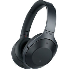 Sony MDR-1000X/B Black Hi-Res Bluetooth Wireless Noise Cancelling Headphones
