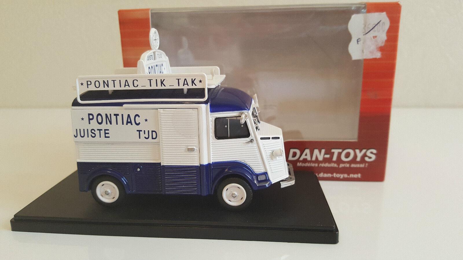 Dan Toys   Eligor - Citroën Type H Pub  Pontiac  Netherlands (1 43)