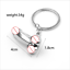 thumbnail 4 - Male Female Reproductive Organs Personality Male and Female Couple Keychain