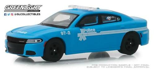 A.s.s NUOVO Greenlight 1//64 Dodge Charger Pursuit Police Anniversary Collection